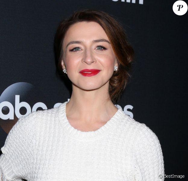 Caterina Scorsone - Les acteurs de 'Greys Anatomy' réunis pour fêter la diffusion du 300ème épisode de la série au restaurant TAO à Hollywood, le 5 novembre 2017.