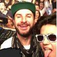 Sean Obispo et Michaël Youn posent ensemble sur Instagram, le 29 mars 2017.