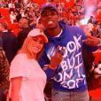 Paul et Maria Pogba ont assisté au match Heat de Miami VS Cavaliers de Cleveland à l'AmericanAirlines Arena de Miami le 20 novembre 2019.