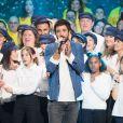 Jérémy Frérot - Deuxième jour de la 33ème édition du Téléthon au Parc de la Villette à Paris le 7 décembre 2019. © Tiziano Da Silva/Bestimage