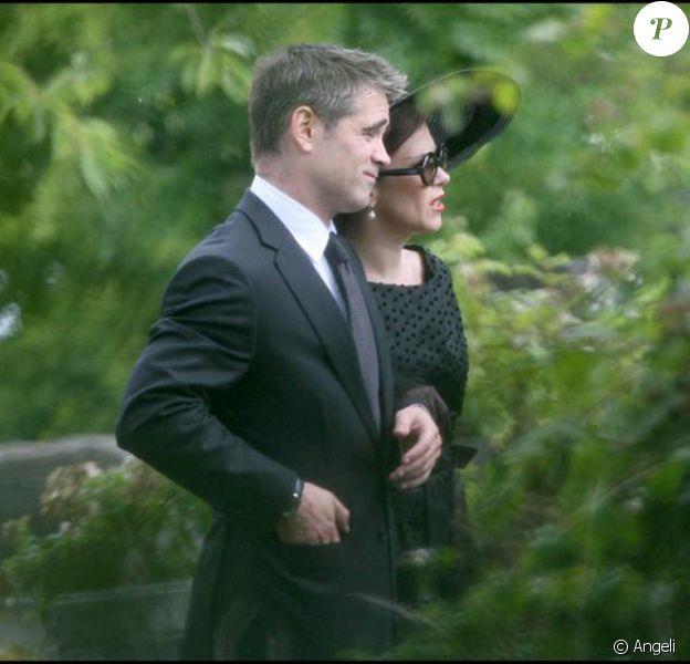 Colin Farrell et Anna Friel sur le tournage de London Boulevard