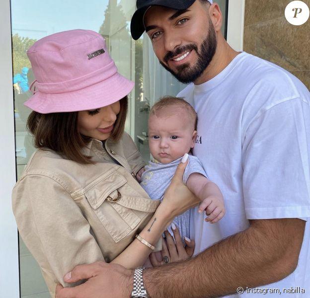 Nabilla et Thomas Vergara avec leur fils Milann - Instagram, 6 janvier 2020