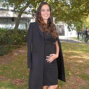 Anouchka Delon enceinte : elle dévoile son baby bump en plein tournage