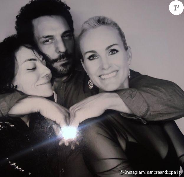 """Pierre Rambaldi a fêté son anniversaire au """"Piaf"""" à Paris le 9 janvier 2020. Laeticia Hallyday, Sandra et Tomer Sisley étaient présents."""