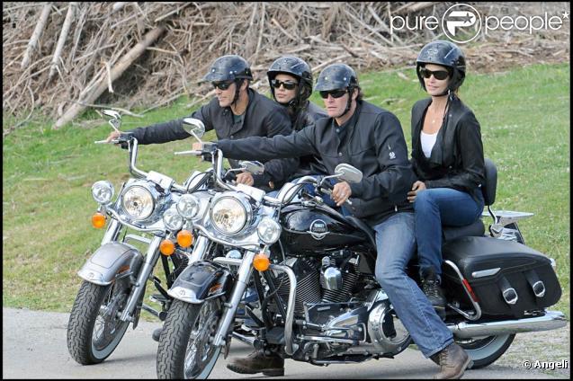 George Clooney/Elisabetta Canalis vs. Cindy Crawford/Rande ...