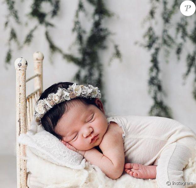 Cassie dévoile d'étranges photos de sa fille, le 9 janvier 2020.