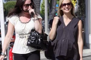 Sarah Michelle Gellar : sourire étincelant et petit short, le duo gagnant de cette superbe future maman !