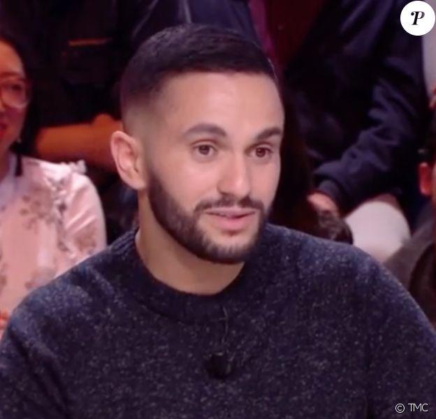 """Malik Bentalha de passage dans """"Quotidien"""" (TMC), le lundi 13 janvier 2020."""
