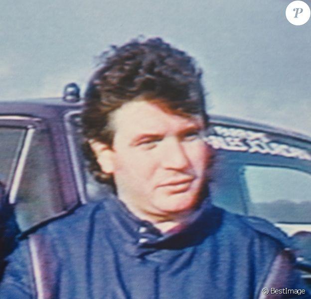 Archives- Daniel Balavoine lors du Paris Dakar, le 14 janvier 1986.