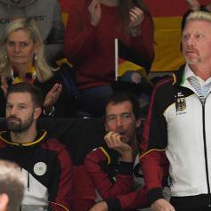 Boris Becker - Les célébrités assistent à la Coupe Davis à Madrid, le 20 novembre 2019. © Chryslene Caillaud / Panoramic / Bestimage
