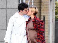 Chloë Sevigny : Enceinte, elle embrasse son chéri dans les rues de New York