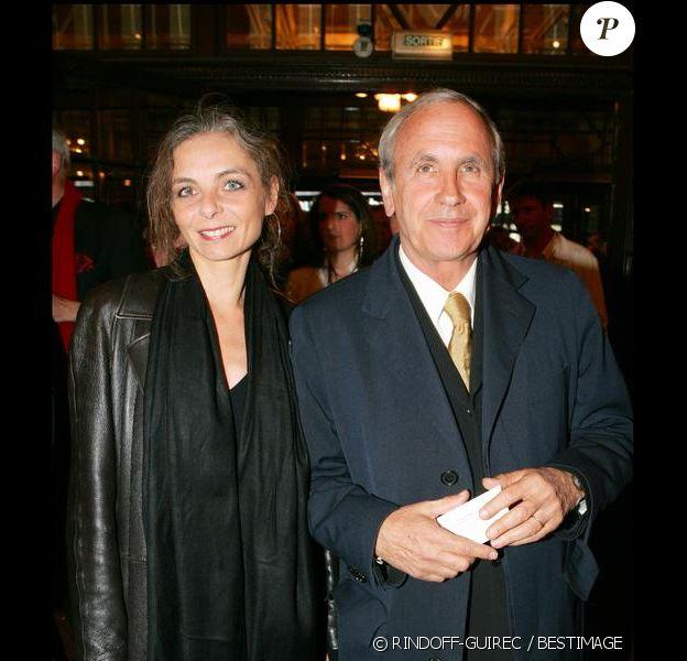 Patrice Laffont et sa femme Valérie aux Molières en 2005