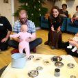 """Kate Catherine Middleton, duchesse de Cambridge, en visite au centre pour enfants """"Ely & Caerau"""" à Cardiff. Le 22 janvier 2020"""