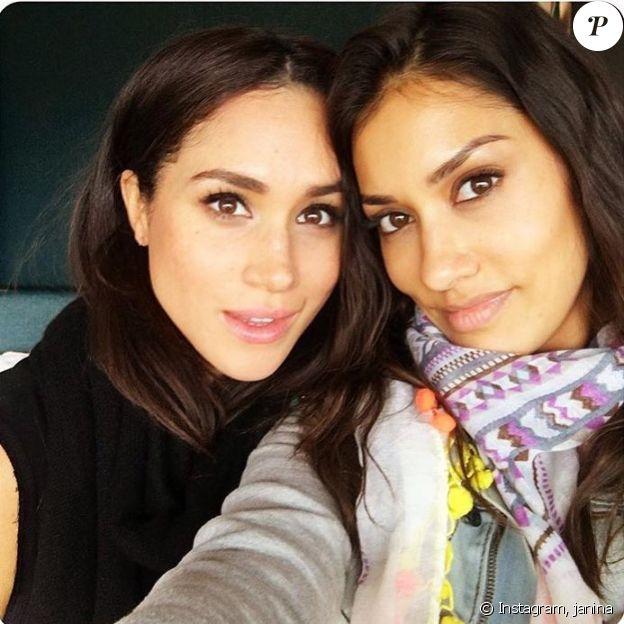 Meghan Markle et sa copine actrice Janina Gavankar sur Instagram, en 2016.