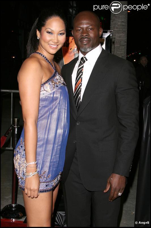 Kimora Lee Simmons et Djimon Hounsou