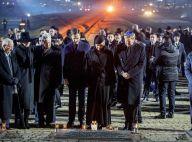 Auschwitz : Letizia, Maxima, Mathilde, reines recueillies à la lueur des bougies