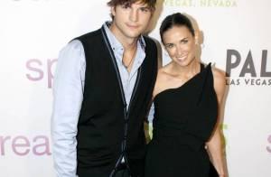 Demi Moore et Ashton