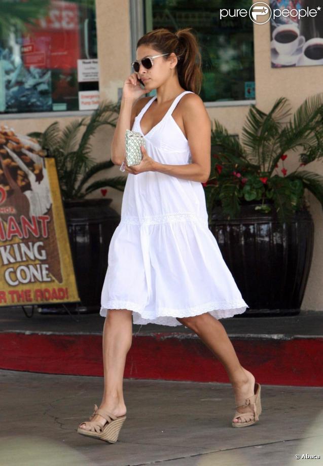 Eva Mendes à Los Angeles. 05/08/09