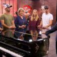 """Anthony Trice au casting à l'aveugle """"The Voice"""" sur TF1, le 25 janvier 2020."""