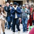 Travis Scott, Corey Gamble - Exclusif - Les Kardashian passent la journée à Disney Magic Kingdom à Orlando en Floride, le 23 janvier 2020