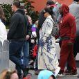 Corey Gamble, Kylie Jenner - Exclusif - Les Kardashian passent la journée à Disney Magic Kingdom à Orlando en Floride, le 23 janvier 2020