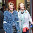 """Renée Zellweger (enceinte pour les besoins du film) sur le tournage de """"Bridget Jones 3"""" à Londres le 7 octobre 2015"""