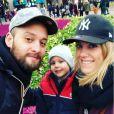 Jérémy (Les Anges 12) pose avec sa femme et leur fils Nathan sur Instagram - 24 novembre 2019