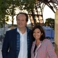 Exclusif - Anne Hidalgo et son mari Jean-Marc Germain - Concert de Paris sur le Champ de Mars à l'occasion de la Fête Nationale à Paris le 14 juillet 2019. © Gorassini-Perusseau-Ramsamy/Bestimage