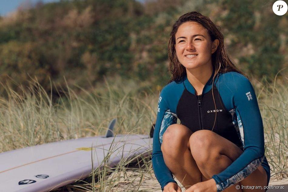 La surfeuse Poeti Norac sur Instagram. Vice-championne de France 2018 de longboard, elle est décédée lors du week-end du 1er au 2 février 2020 sur la Sunshine Coast (Australie), à l'âge de 24 ans.