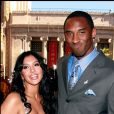Kobe Bryant et son épouse Vanessa- le 12 juillet 2006 à Los Angeles.