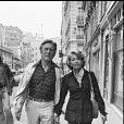 Kirk Douglas est décédé à 103 ans, le 5 février 2020 - Archives- Kirk Douglas et son épouse Anne à Paris. Photo non datée.