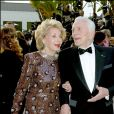 Kirk Douglas et son épouse Anne, le 28 février 2004 à Los Angeles.