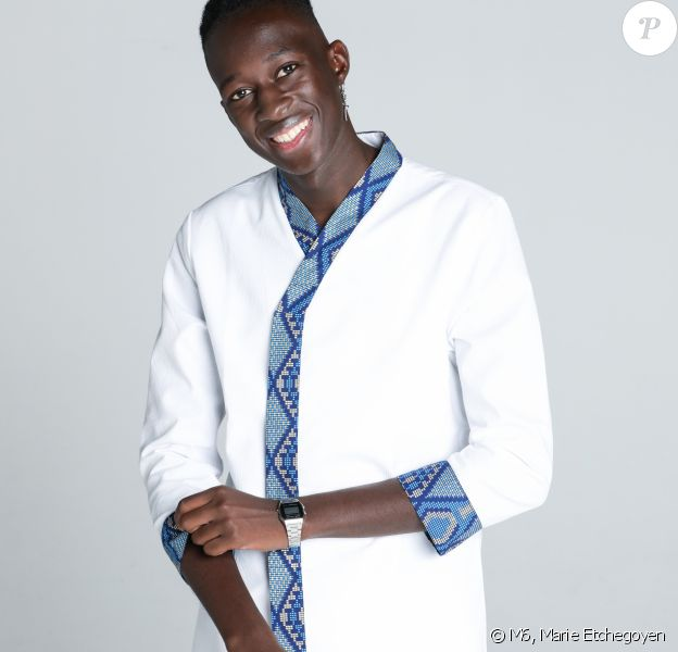 "Mory Sacko, 27 ans, candidat de ""Top Chef 2020, photo officielle"