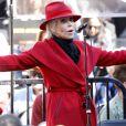Jane Fonda à la manifestation Fire Drill Friday dans les rues de Los Angeles, le 7 février 2020 © Future-Image via Zuma/Bestimage