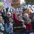 Jane Fonda - L'actrice et militante politique participe à une manifestation pour le climat à Capitol Hill, à Washington, DC,le 8 novembre 2019. Les activistes se sont ensuite rendus à la Maison Blanche pour attirer l'attention sur la nécessité de lutter contre le changement climatique.