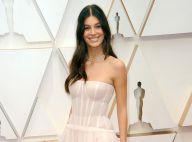 Camila Morrone et DiCaprio aux Oscars : le top s'illustre en robe de mariée