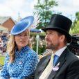 Peter et Autumn Phillips - La famille royale d'Angleterre lors du Royal Ascot 2018 à l'hippodrome d'Ascot dans le Berkshire. Le 20 juin 2018.