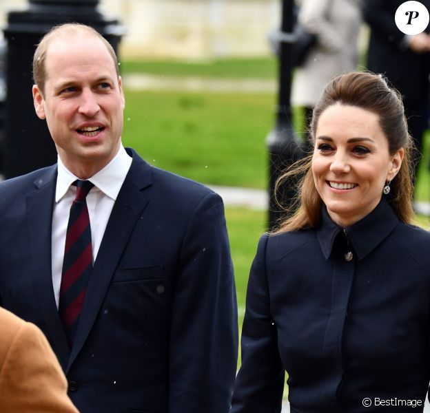 Le prince William, duc de Cambridge, et Catherine (Kate) Middleton, duchesse de Cambridge - Visite du Centre de réadaptation médicale de la défense à Stanford, Leicestershire le 11 février 2020.