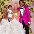 Photo du mariage d'Amber Rose et Wiz Khalifa, en 2013
