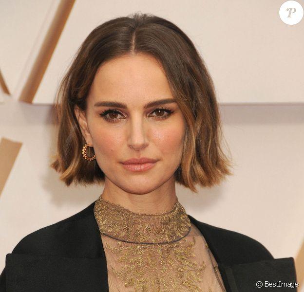 Natalie Portman - Photocall des arrivées de la 92ème cérémonie des Oscars 2020 au Hollywood and Highland à Los Angeles le 9 février 2020.