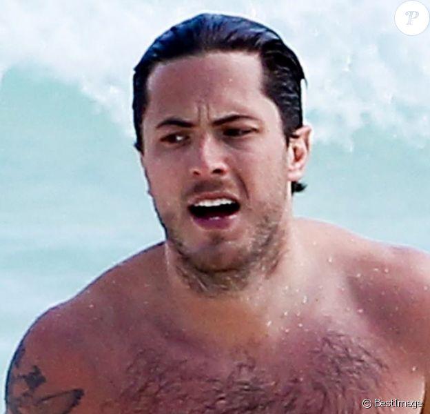 Harry Morton en vacances à Cancun au Mexique, le 26 janvier 2013.