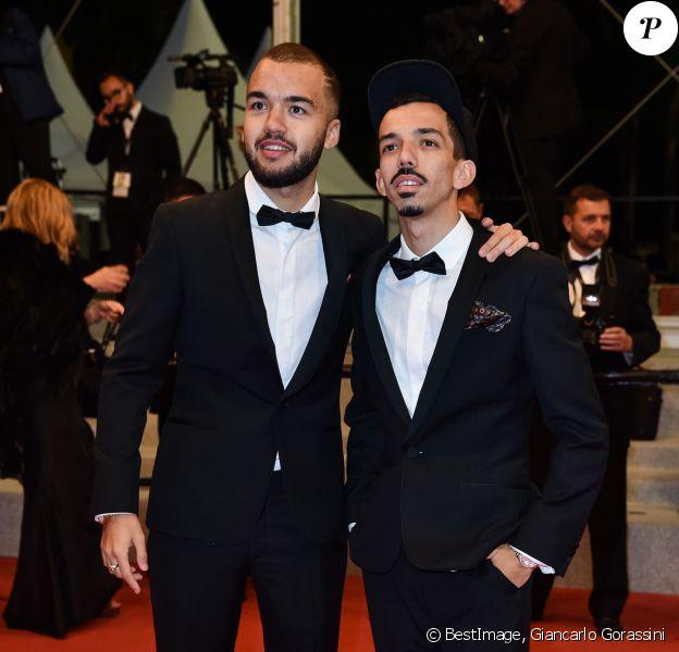 """Bigflo et Oli - Montée des marches du film """"Diego Maradona"""" lors du 72ème Festival International du Film de Cannes. Le 19 mai 2019 © Giancarlo Gorassini / Bestimage"""