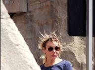 Renée Zellweger en vacances : peu souriante et... lookée comme si elle sortait de son lit !