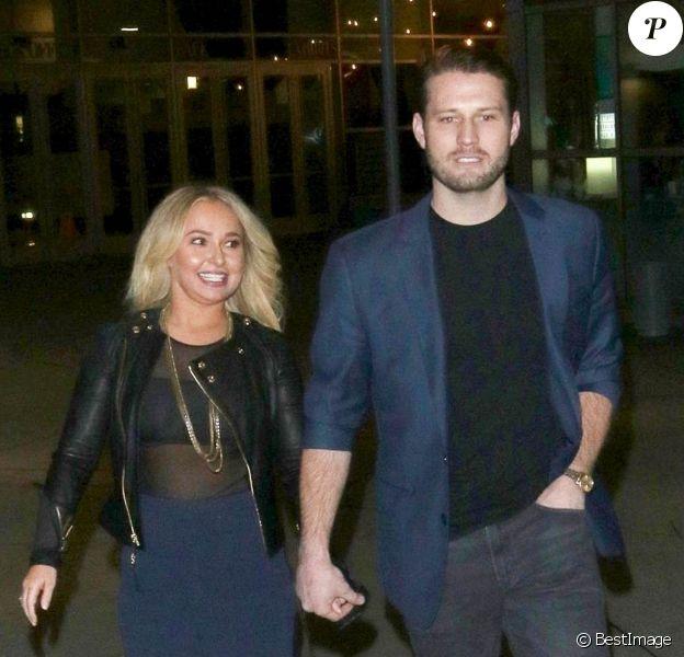 Hayden Panettiere est allée au cinéma avec son compagnon Brian Hickerson à Hollywood, le 31 janvier 2019