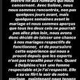 """Romain s'explique sur sa rencontre avec Solenne avant le tournage de """"Mariés au premier regard"""" (M6) - Instagram, 18 février 2020"""