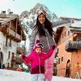 Julia Paredes et sa fille Luna sur Instagram - 2020