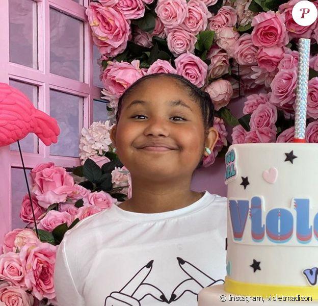 Violet (10 ans), la fille de Christina Milian, sur Instagram. Anniversaire le 24 février 2020.
