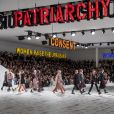 """Défilé de mode prêt-à-porter automne-hiver 2020/2021 """"Dior"""" à Paris. Le 25 février 2020 © Olivier Borde / Bestimage"""