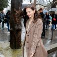 Katie Holmes a assisté au défilé de mode Chloé, collection prêt-à-porter automne-hiver 2020/2021. Paris, le 27 février 2020. © Veeren-Clovix/Bestimage