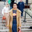 Zita Hanrot a assisté au défilé de mode Chloé, collection prêt-à-porter automne-hiver 2020/2021 lors de la semaine de la mode. Paris, le 27 février 2020. © Veeren-Clovix/Bestimage
